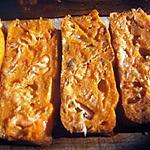 recette Cake minute au saumon , tomates et olives