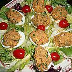 recette Oeufs farcis aux sardines
