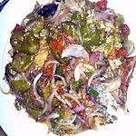 recette poisson sale aux aubergines