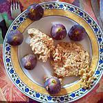 recette Galettes de flocons d'avoine accompagnées de figues fraîches