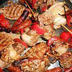 recette Mixed grill d agneau