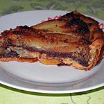 recette Tarte aux poires et aux noisettes