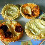 recette Tartelettes de camembert et chorizo