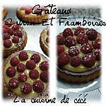 recette Gâteaux citron et framboises