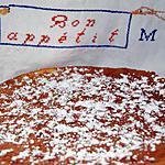 Gâteau magique à la vanille (basée sur la recette de Rosy)