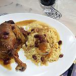 recette Cuisses de canards à l'orientale