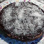 recette Moelleux chocolat-caramel noix de coco