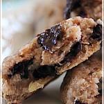recette ~Biscuits aux bananes, gruau et chocolat~