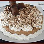 recette Entremets mousse kinder bueno / éclats de schokobons