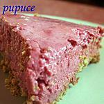 recette cheesecake à la framboise (sans cuisson)