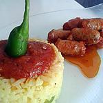 recette petites chipolatas à la créole
