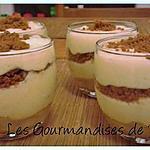 recette Tiramisu bananes caramélisées et speculoos