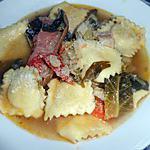 recette SOUPE PAYSANNE (A MINESTRA) ET RAVIOLI AU BROCCIU
