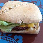 """recette burger maison façon """"Le petit McBaguette (mcdo)"""""""
