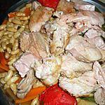 recette Gigot d agneau roti aux lingots et haricots vert