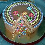 recette Piñata Cake ou Gâteau Surprise