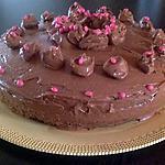 recette Gâteau d'anniversaire au chocolat et sa crème au beurre chocolaté