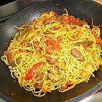 recette Spaghettis à l'espagnol