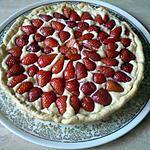 recette Tarte aux fraises express