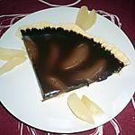 recette Tarte fondante poires/chocolat