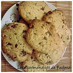 recette Cookies noisettes et chocolat