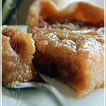 recette ~Tarte au sucre traditionnelle~