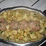 Paupiettes de veau, pommes de terre