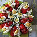 recette Salade colorée