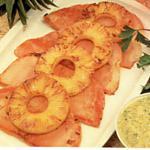 recette Steaks de Jambon à l' Ananas