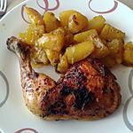 recette Cuisses de poulet et pommes de terre au curry