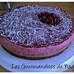 recette Bavarois fruits rouges et chocolat