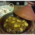 recette Tajine kefta pommes de terre et courgettes