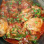 Sauté de cuisse de dinde a la hongroise