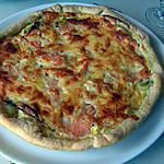 recette Tarte aux poireaux et saumon fumé