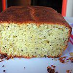 recette Gâteau au citron et aux graines de pavot