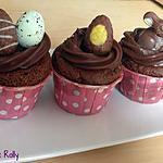 recette Cupcakes cgocolat coco de Pâques