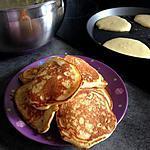 recette Mini pancakes à la vanille