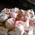 recette Wraps apero