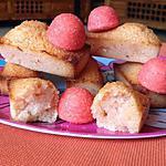 recette Financiers aux fraises Tagada ®