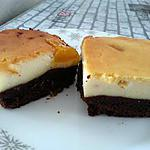 recette cheese-brownie cake