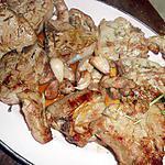 Cotes d agneau au romarin