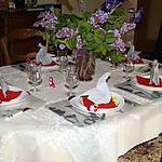 recette Idée de déco de table (pâques)