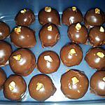 Boule amande chocolat