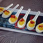 recette Oeufs mimosa au bacon