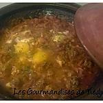 recette Tajine de kefta aux oeufs