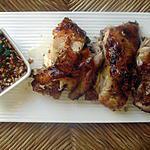 recette Poulet grillé et mariné a la citronnelle et coriandre