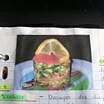 recette 1000 feuilles de saumon fume au surimi