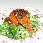 recette Flans de carottes sauce aux noix