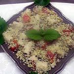 recette Boulgour aux quenelles de brochet menthe citronnée.