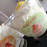recette Mousse de mascarpone citroné